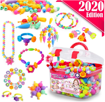 This is an image of girl's Beads for girls in colorful colors