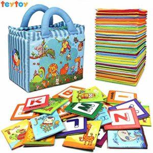 teytoy alphabet cards with cloth bag