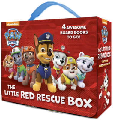 This is an image of toddler's paw patrol board books pack