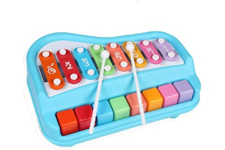This is the image of Toysery Multifunctional Drum and Keyboard set