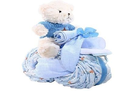 This is the image of Tricycle Diaper Cake