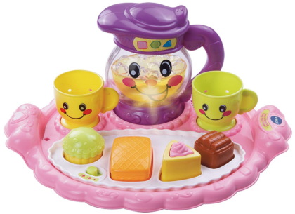 This is an image of babie's discover playset by VTech in colorful colors