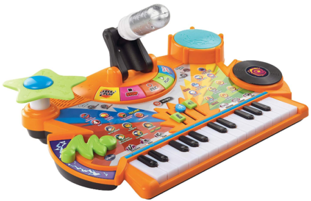 This is an image of girl's keyboard kidistudio by VTech