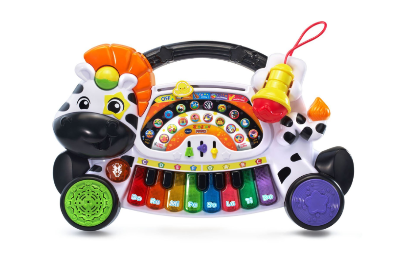 This is an image of a 4 in 1 instrument for toddlers by VTech.