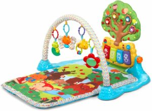 a colorful baby play mat