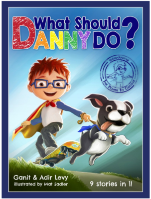 This is an image of kid's book, What should danny do