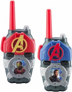 ironman and captain america walkie talkies