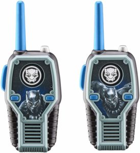two black panther walkie talkies