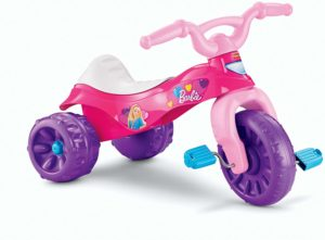 pink barbie tricycle