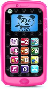 pink toy smartphone