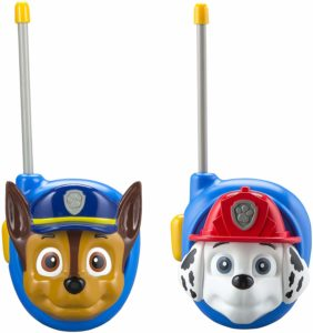chase and marshall walkie talkies
