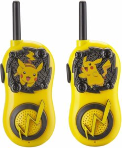 two pikachu walkie talkies