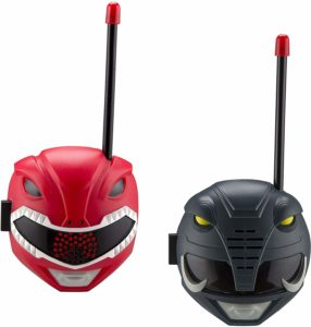 red and black ranger walkie talkies