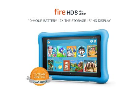 This is the image of Amazon's Fire Tablet for Kids