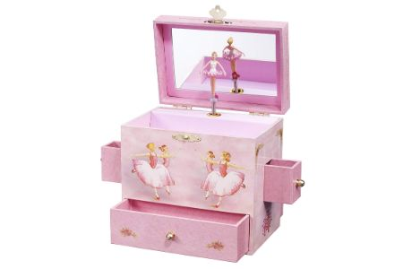 This is the image of Ballerina Jewelry Box