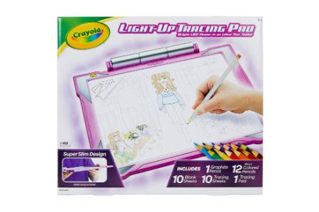 This is the image of Crayola Pink Tracing Pad