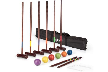 This is the image of Deluxe Croquet Set