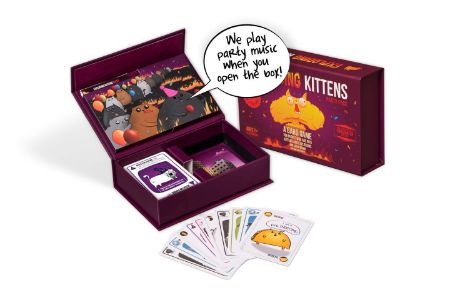 This is is the image of Exploding Kittens Party Card Game
