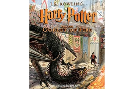 This is the image of Harry Potter Illustrated Edition