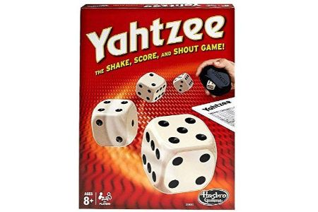 This is the image of Hasbro Yahtzee