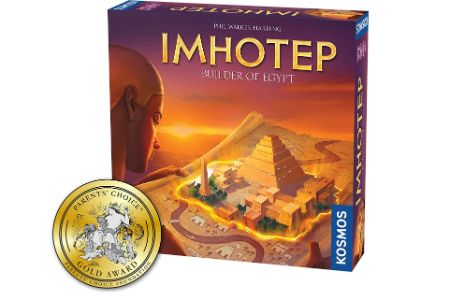 This is the image of Imhotep Egypt Themed Board Game