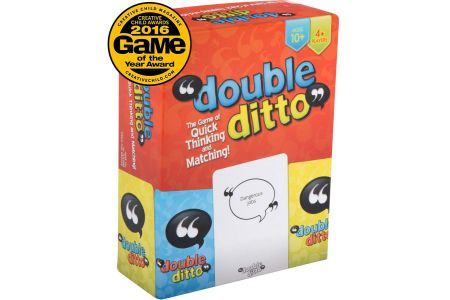 This is the image of Inspiration Play Double Ditto Board Game