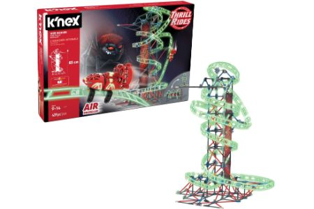 This is the image of KNEX Roller Coaster Set