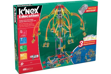 This is the image of KNEX Swing Ride Set