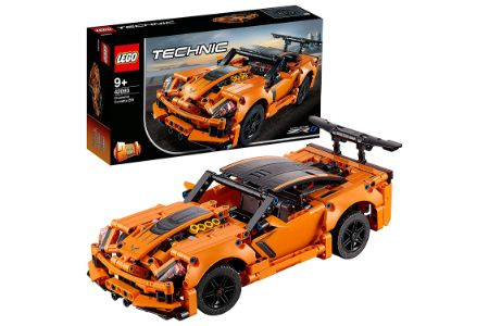 This is the image of LEGO Chevrolet Corvette Building Kit