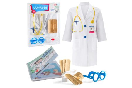 This is the image of Litti City Girl's Doctor Kit