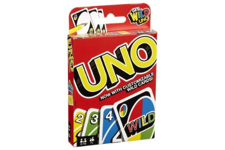 This is the image of Mattel UNO Card Game