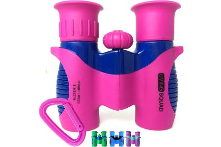 This is the image of Pink Binoculars for Kids