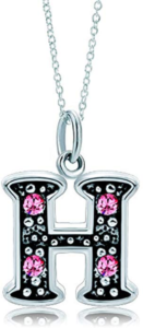 this is an image of an initial necklace