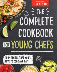 this is an image of the complete cookbook for young chefs