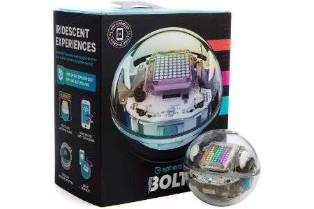 This is the image of Sphero Bolt:The cool robot ball