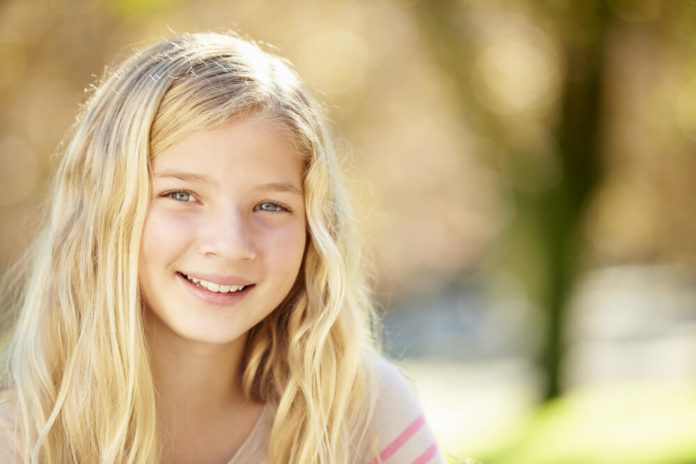 image of a 10 year old girl
