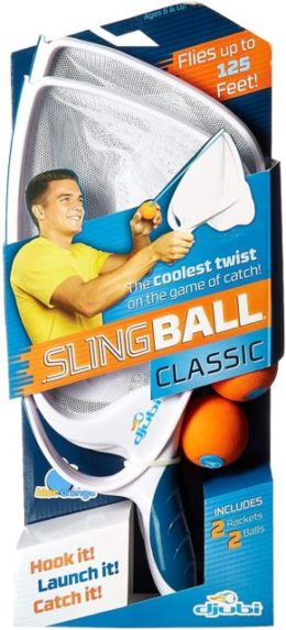 This is an image of Djubi Classic - the Coolest New Twist on the Game of Catch!, Slingball Classic