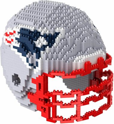 This is an image of FOCO 3D BRXLZ Building Blocks - Helmet 3D BRXLZ - Large Helmet