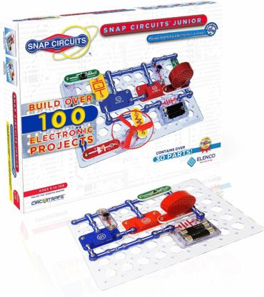 This is an image of Elenco Snap Circuits Jr. SC-100, Black