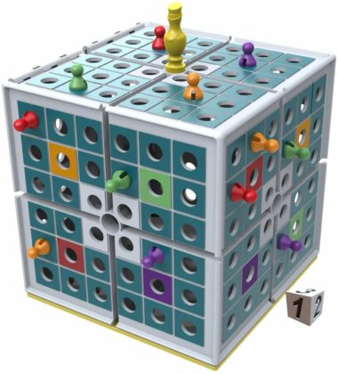 This is an image of Squashed 3D Strategy Board Game