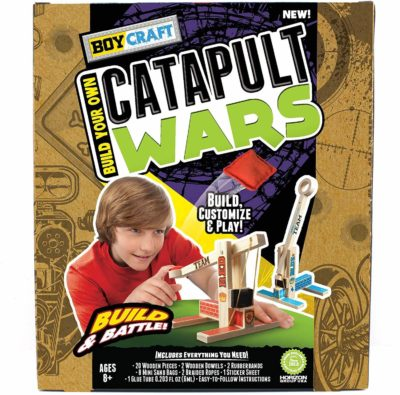 This is an image of Boy Craft Catapult Wars by Horizon Group USA