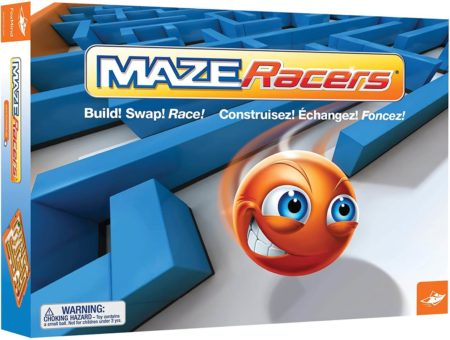 This is an image of Maze Racers - The Exciting Maze Building and Racing Game