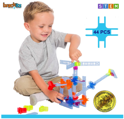 This is an image of boy's STEM building kit in varicolors