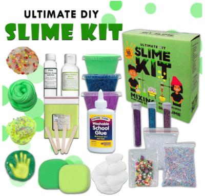 This is an image of kid's Mushroom ultimate slime kit