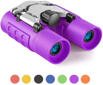 This is an image of kid's Binoculars in purple color