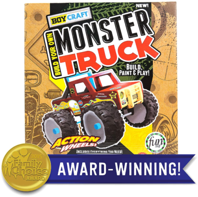 This is an image of kid's monster truck by horizon