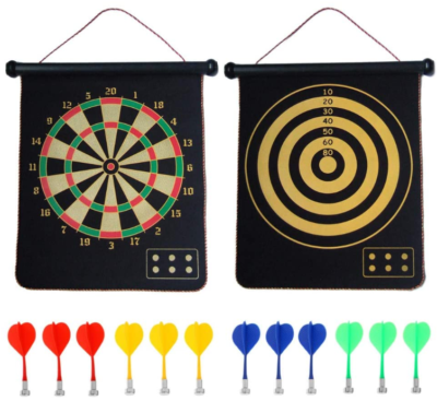 This is an image of kid's MAgnetic dart board
