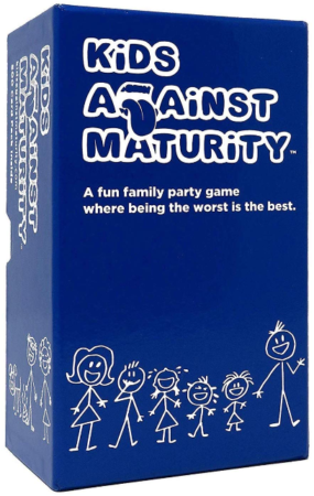 This is an image of kid's Against maturity card game