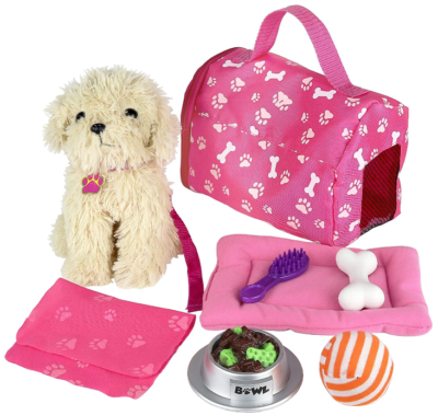 This is an image pf kid's puppy set accessories