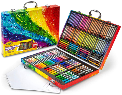 This is an image of girl's Art case coloring set by Crayola